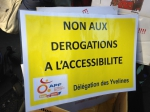 manifestation 11 février 2015, accessibilité