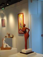 exposition, peinture, sculpture