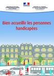Guide, accueillir, personnes, handicapées