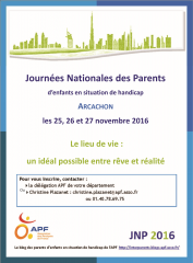 journées, nationales, parents, apf