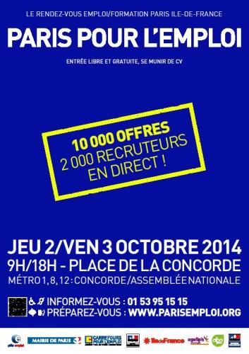 Paris pour l 39 emploi apf france handicap yvelines 78 for Emploi jardinier yvelines