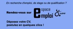 espace, emploi, APF