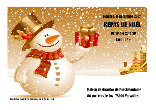 Soirée, Noël, APF, Versailles