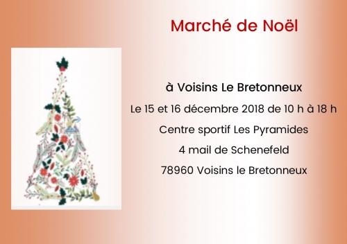 marché,noël,voisins le bretonneux