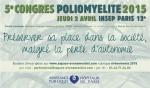 congrès sur la poliomyélite
